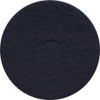 3M 7300 High Productivity Black Strip floor pads 17 inch for