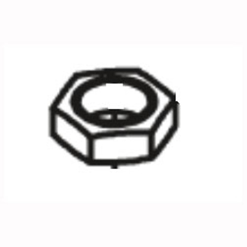 Betco E8196700 Jam Nut .25 Npt Brass replaces 410443 NuSource for Vispa 35B or Genie floor scrubber