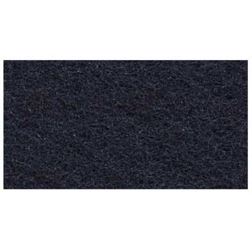 3M 7300 High Productivity Black Strip rectangle floor pads 1