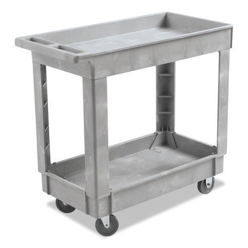 Boardwalk BWK3416UCGRA service utility cart 34x16 300 lbs. capacity gray