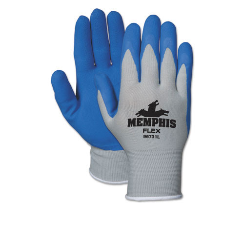 Memphis Flex seamless foam nylon knit glove size small 12 pairs of gloves replaces mcr96731s crews glasses crw96731sdz
