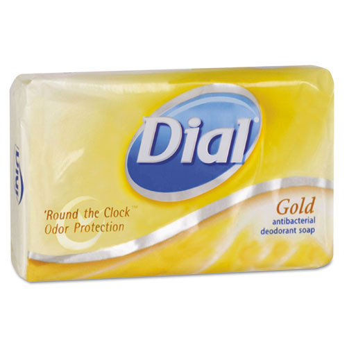 Dial deodorant bar soap retail wrapped size number 3.5 case of 72 bars DIA00910CT
