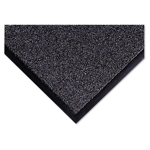 Door mat indoor wiper scraper mat cross over floor mat 3x5 gray color replaces crocs35gra Crown cwncs0035gy