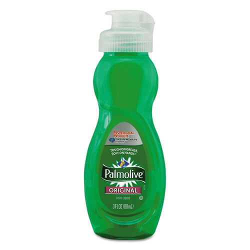 Palmolive manual dishwashing liquid original formula 3oz per bottle case of 72 bottles cpc01417