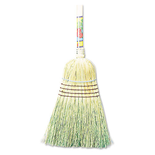 Boardwalk BWK932CCT warehouse broom 100 per cent corn fiber wood handle 12 brooms replaces UNS932Y