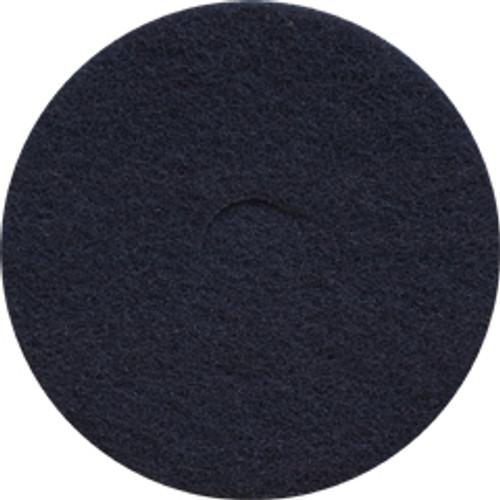 Black Strip Floor Pads 18 inch standard speed up to 350 rpm