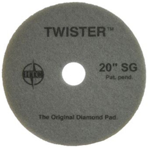 Twister Supergloss Floor Pads 20 inch ultra high speed floor buffer polishing pads 1000 to 3000 rpm for polishing to a super high gloss on all coated floors case of 2 pads 434920