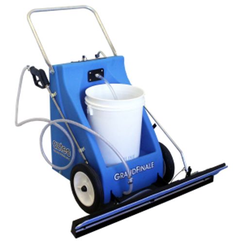 Aztec Grand Finale Floor Finish Applicator battery powered with 36 inch cleaning path holds box or bucket finish A05036