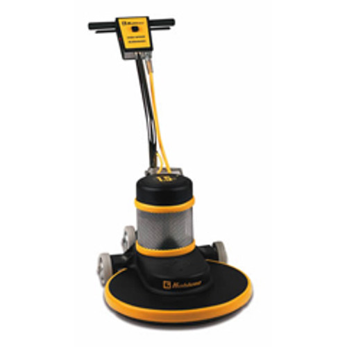 Koblenz B1500P floor buffer burnisher machine 20 inch with pad holder 1500 rpm ac motor 1.5 hp fixed curved handle K0044743