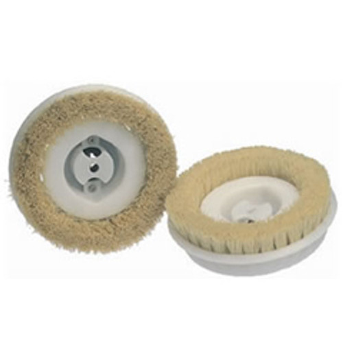 Koblenz 4501359 6 inch polishing brushes plastic hub for most Koblenz shampoo polisher Floor scrubber machines set of 2 brushes