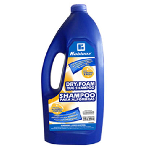 Koblenz 2005296 dry foam carpet shampoo for Koblenz shampoo polisher floor scrubber machines 1 quart bottle