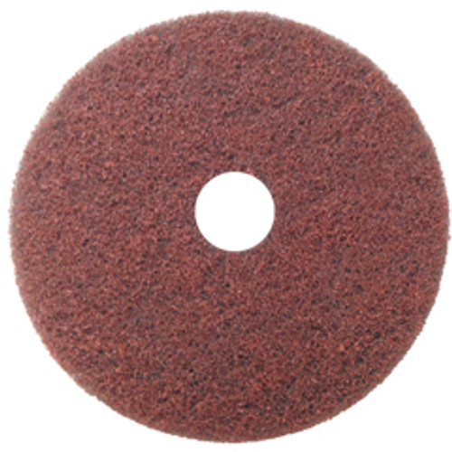 DiamaClean Diamond Abrasive Pads for Stone Marble Granite Concrete 27 inch 400 Diamond Grit for Very Aggressive Applications Removes Surface Coatings Polishes Away Surface Deformities case of 5 Pads DC270400D GW