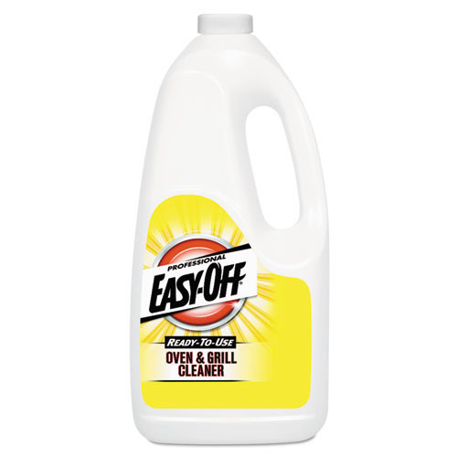 Easyoff oven grill cleaner half gallon bottle case of 6 replaces REC80689 RAC80689CT