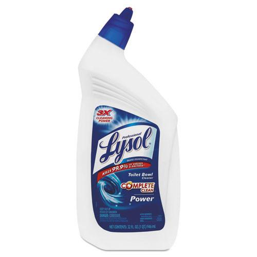 Lysol disinfectant bowl cleaner 32oz bottles case of 12 replaces rec74278 rac74278ct