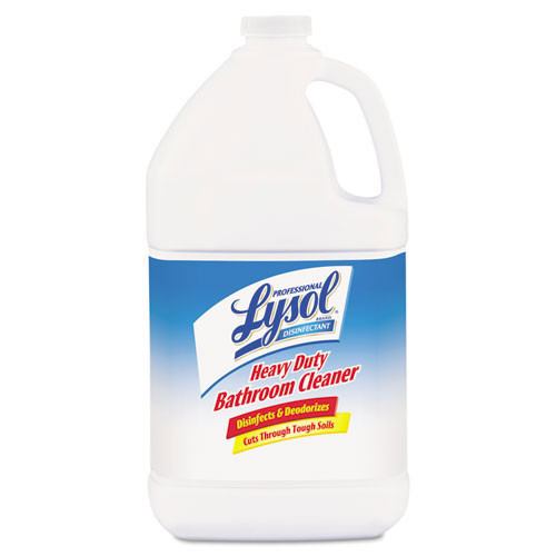 Lysol professional bathroom cleaner disinfectant heavy duty concentrate fresh lime scent one gallon bottles case of 4 replaces rec94201 rac94201ct