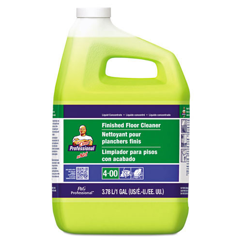 Mr Clean finished floor cleaner all purpose cleaner gallon bottles case of 3 gallons pgc02621ct