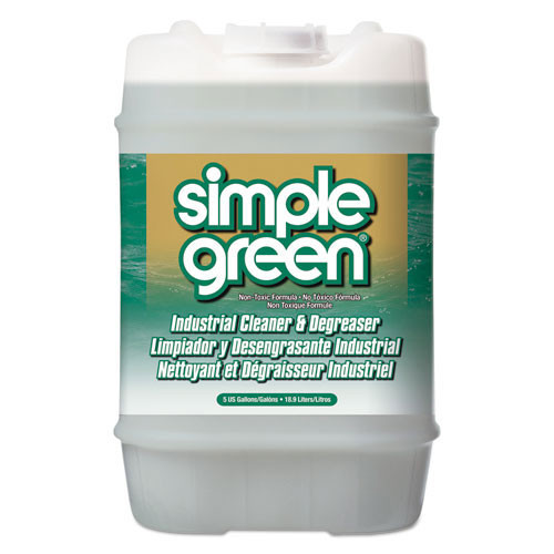 Simple Green concentrate cleaner degreaser nontoxic 5 gallon pail with pour spout smp13006