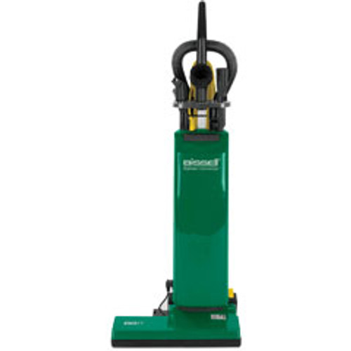 Bissell vacuum BGUPRO14T 14 inch commercial upright dual motor with on board tools uses disposable bags