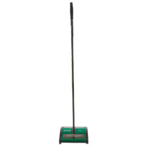 Bissell BG21 Carpet Sweeper for all floor types 2 rubber brush system for wet messes