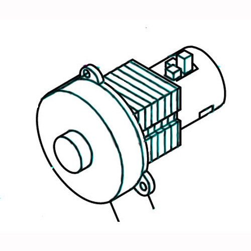 Betco E8394900 Nusource vacuum motor 24vdc 250w for Media auto scrubbers