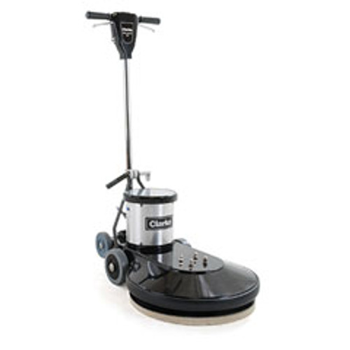 Clarke Ultra Speed Pro 1500 CLARKE1500 20 inch electric floor polisher 1500 rpm with pad holder 1.5 hp DC rectified motor