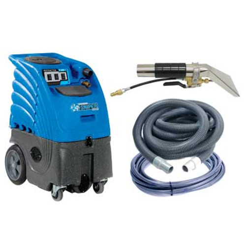 Sandia Sniper6 carpet extractor 862200h7a8a501 upholstery cleaner 6 gallon canister with heater dual 2 stage motors adjustable 200psi pump