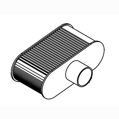 Eagle W110130752 Air Filter Element for Eagle Propane Floor Buffers With Kawasaki Motor FS481 replaces W999990384