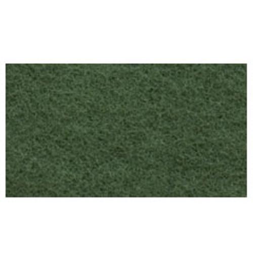 Green Scrub Floor Pads 14x28 inch rectangle standard speed u