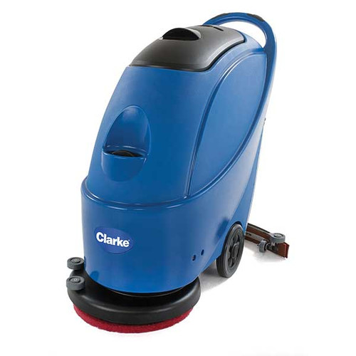 Clarke CA3017E Floor Scrubber CLARKE430C 17 inch with brush 65 foot electric cord 13 gallon GW