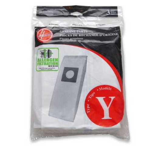 36 Hoover 4010100Y Type Y vacuum bags allergen filtration for CH53005 and C1703900 vacuum cleaner