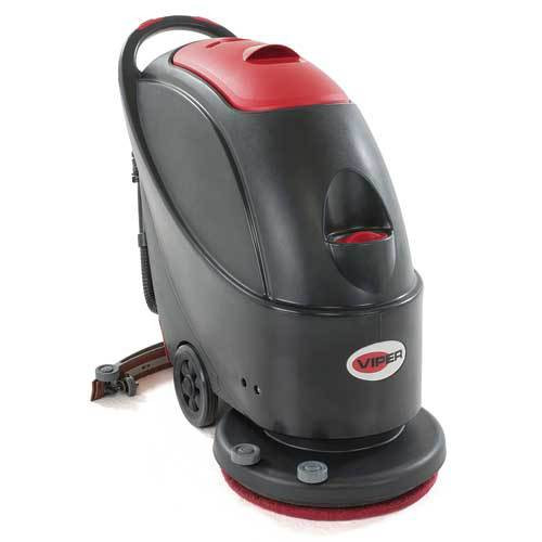 Viper Floor Scrubber AS430C 65 foot electric cord 17 inch 13 gallon with brush GW