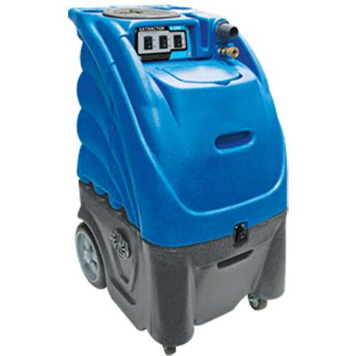 Carpet extractor with heater 12 gallon canister 300psi dual 3 stage vac motors includes 25 foot hose 12 inch floor wand Cleaning Stuff 12gh300p3v25
