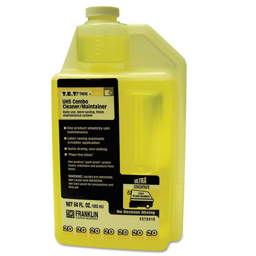 Franklin fklf378419 tet number 20 spray buff cleaner maintainer concentrate two 64 oz bottles replaces frkf378419 gw