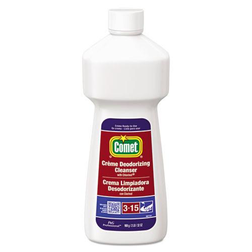 Comet Deep Clean disinfectant creme cleanser 32oz bottle case of 9 bottles replaces PGC02280 PGC73163 PGC53835CT
