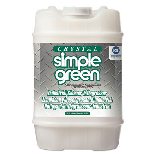 Simple Green smp19005 crystal industrial cleaner degreaser, 5gal, pail