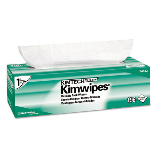 Kimberly Clark kcc34133 Kimwipes delicate task wipers, 11 4 5 x 11 4 5, 196 box, 15 boxes carton