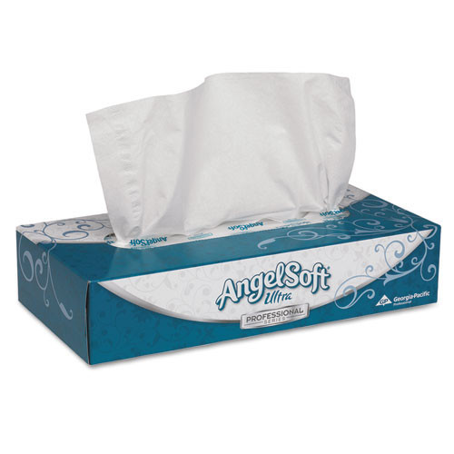 AngelSoft gpc48560 ultra premium facial tissue, white, 7 2 5 inchx 8 4 5 inch, 125 box, 30 boxes carton