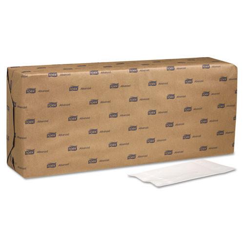 Scanp310a advanced soft dinner napkins, 2 ply, 15x16 1 4, 1 8 fold,bag pac,white, 3000 ct