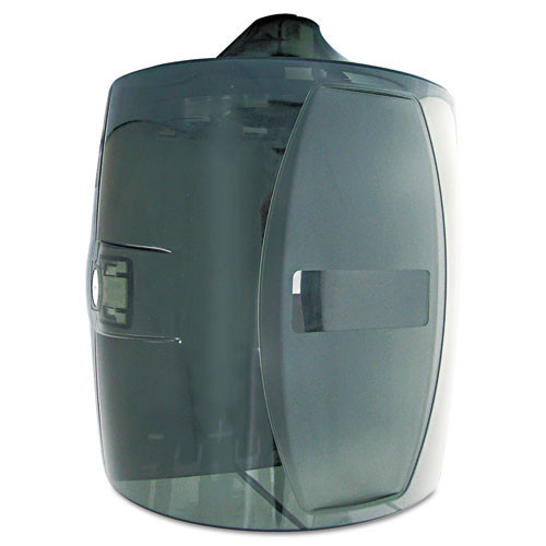 Txll80 gym wipes contemporary wall dispenser, smoke gray