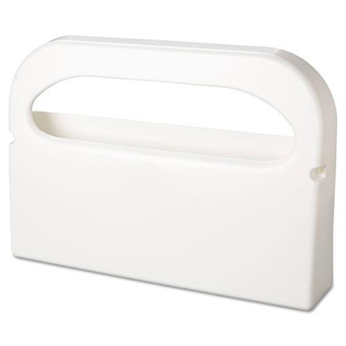 Dispenser toilet seat covers Hospital Specialties white plastic