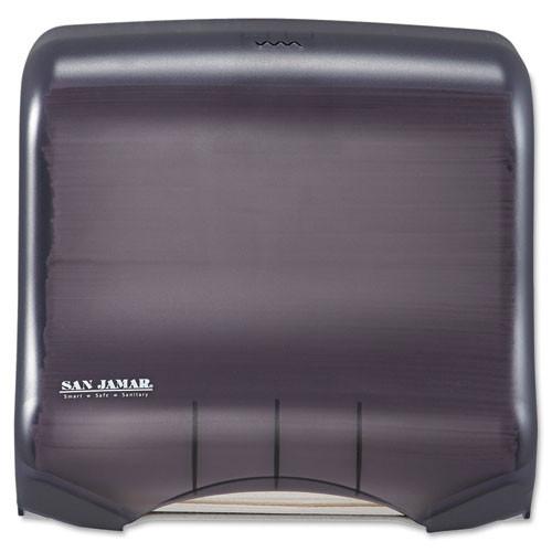 San jamar sjmt1750tbkrd ultrafold towel dispenser, 11 .5w x 6d x 11 .5h, black pearl