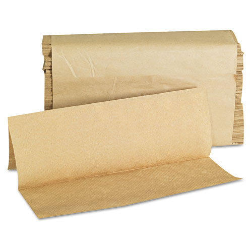 General Supply gen1508 folded paper towels, multifold, 9 x 9 9 20, natural, 250 towels pk, 16 packs ct