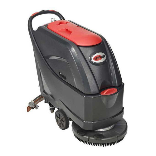 Viper floor scrubber AS5160 56384810 20 inch 16 gallon with pad holder 105 ah wet batteries