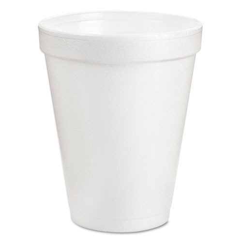 Foam cups 6oz. Dart 25 per bag case of 40 bags insulated for hot or cold dcc6j6d