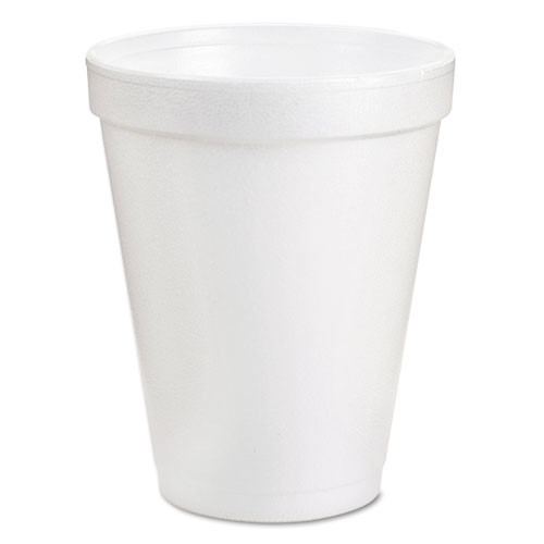 Foam cups 8oz hot or cold 25 per bag case of 40 bags dart dcc8j8