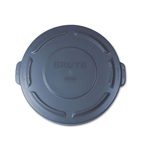 Rubbermaid 261960gra trash can lid for round Brute container 20 gallon gray