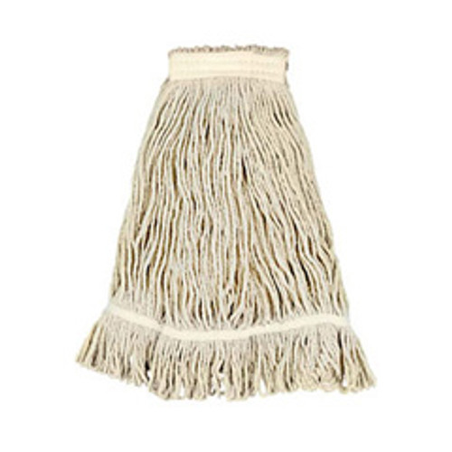 Boardwalk BWK4024RCT rayon looped end fantail wet mop heads number 24 1 inch headband case of 12
