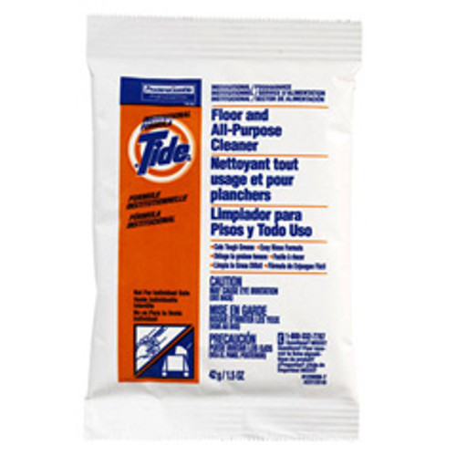 Tide floor and all purpose cleaner 100 1.5 oz packets