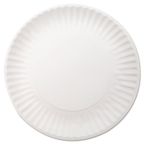 Paper plates light weight uncoated 9 case of 1000