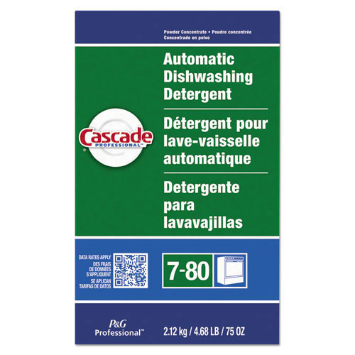 Cascade PGC59535CT automatic dishwashing powder 75oz box case of 7 boxes replaces PGC34953
